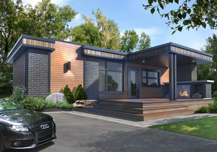16 x 46 h confort design for Mini maison design