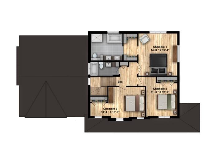Madison-plan-etage