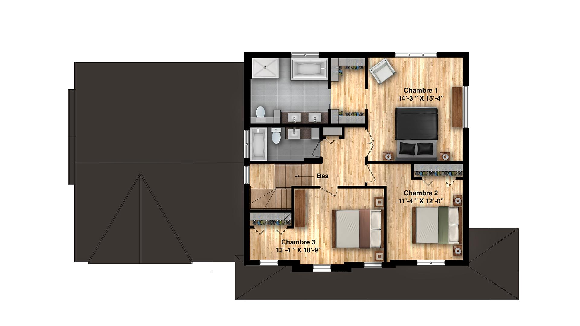 madison-plan-plancher-etage