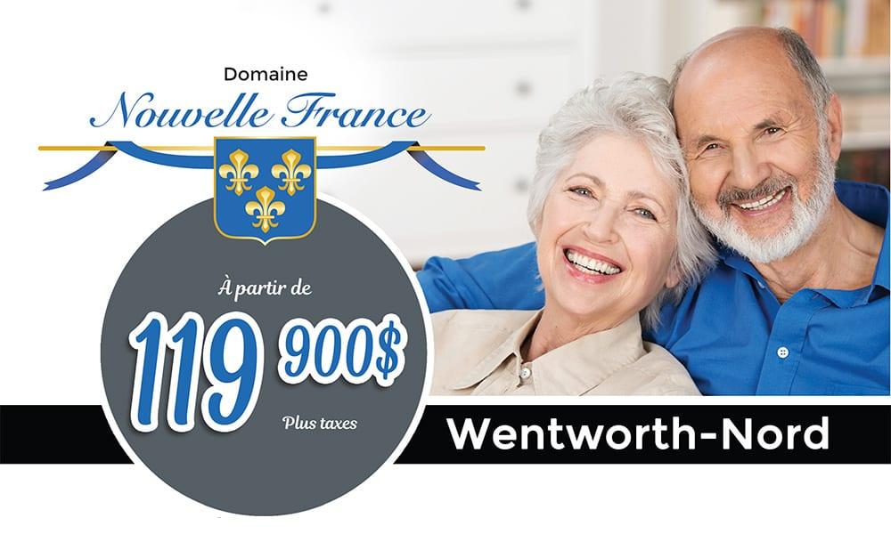Domaine Nouvelle France Wenworth Nord Confort Design