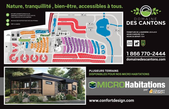 Domaine Des Cantons Votre Mini Maison En Estrie Confort Design