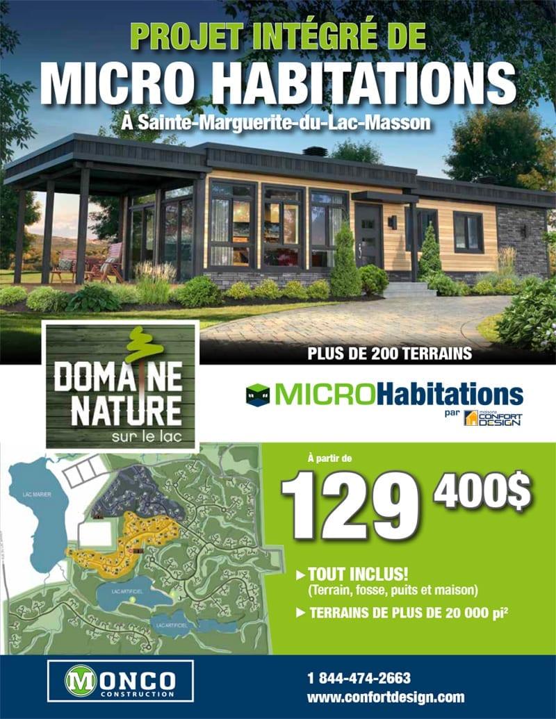 Ste Marguerite Du Lac Masson Projet Domaine Nature Sur Le Lac