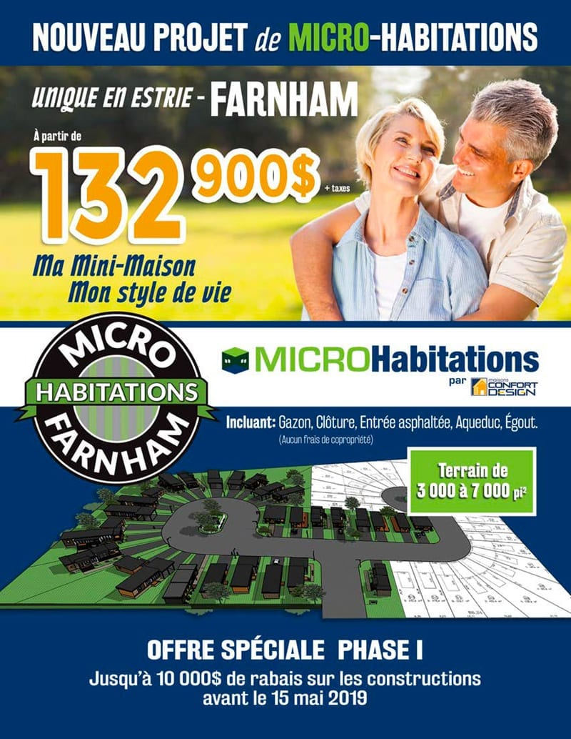 Projet Micro Habitations Farnham Maisons Confort Design